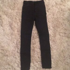 Black Zara jeans. NEVER WORN!